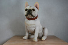 "Dekofigur Hund Französische Bulldogge /""Alain/"" Tierfigur Skulptur Haushund"