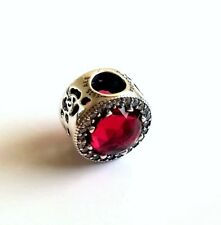NEW Authentic Pandora Silver Disney Belle's Radiant Rose Bead # 792140NCC Charm