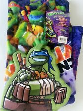 "New Nickelodeon Teenage Mutant Ninja Turtles 2-Piece Bath Towel and Mitt 28""x50"""