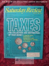Saturday Review March 22 1969 TAXES JOSEPH W. BARE WALTER HELLER