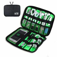 Travel Electronics Accessories Organizer Bag Case for Chargers Cables