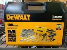 DEWALT DWMT73801- 108 PIECE 1/4 IN & 3/8 IN DRIVE MECHANICS TOOLS SET
