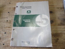 Used John Deere Technical Manual Tm1418 Lawn Tractors Stx30 & Stx38