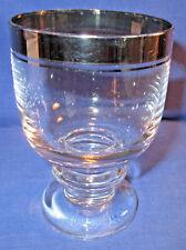 Thomas, Glas, Süßweinglas, Weinglas Platinrand, weitere