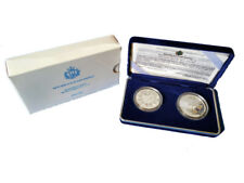 Italia 5 e 10 euro 2005 argento Proof Olimpiadi Invernali Torino 2006 III  Em.