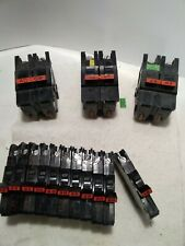 20 40 50 15 20 Amp Federal Pacific Stab Lok Pole Breaker Lot