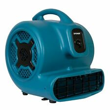 XPOWER X-830 1 HP 3600 CFM Super Air Mover Carpet Fan Water Damage Restoration