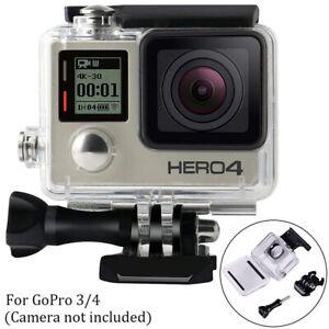 Waterproof Housing Case for GoPro Hero 3 3+ 4 Sport Camera Case Underwater 45m