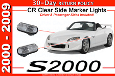 GENUINE HONDA S2000 CLEAR CR SIDE MARKER FENDER LIGHT SET S2K 33801 33851 S2AJ02