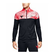 Under Armour Men's Quick dry Breathable Project Rock Track Fitted Jacket 1354829