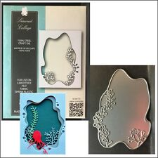 Seaweed Collage metal die - Memory Box cutting dies 99727 under water frame