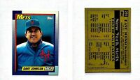 Dave Johnson Signed 1990 Topps #291 Card New York Mets Auto Autograph