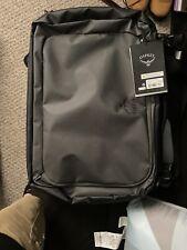 Osprey Packs Transporter Carry On Luggage Black