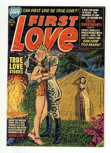 First Love Illustrated #19 FN 6.0 1952