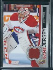 2014-15 UPPER DECK GAME JERSEY CAREY PRICE GJ-CP