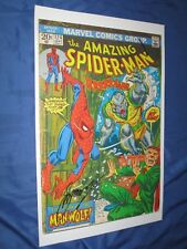 AMAZING SPIDERMAN #124 Signed Art Print by Gerry Conway (Stan Lee/Marvel)