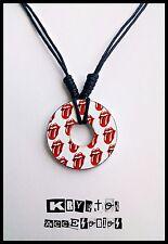 Collar Ajustable Unisex The Rolling Stones Colgante Estampado Lengua Música Rock