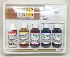 Jacquard Silk Dye Painting Set Starter Pack Kit - Wool Silk - Gutta Resist