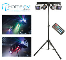 QTX DERBY FX LED PARTY BAR All In one Disco Stage Band DJ Lighting System Bundle