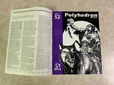 POLYHEDRON Issue 52  MARCH 1990 Volume 10 Number 2 RPGA Newszine Magazine #T920