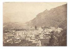 D007 Photographie vintage original Suisse 1873 Albuminé Albumen