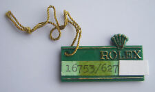 Vintage Rolex green Hang Tag - GMT Master Ref 16753