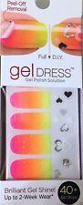 Kiss Nail Gel Dress Gel Polish Solution Gel Strips # 60458 Majestic (Ombre) HTF