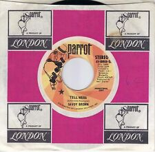 SAVOY BROWN  Tell Mama  rare promo 45 from 1976