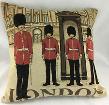 Beefeaters in London On Tapestry Style Evans Lichfield Cushion Cover