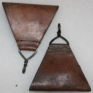 triangle de brelage en cuir modèle 1945 français