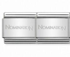 Original NOMINATION Bracelet CLASSIC Links - 2 Links - italian charm NEW
