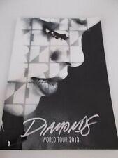 RIHANNA DIAMONDS WORLD TOUR PROGRAMME 2013