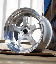 19x10.5 JNC017 MEISTER REP 5X114.3 +22 SILVER MACHINE LIP WHEEL RIM D2 EVO X 10