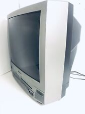 Emerson Ewc27T4 Tv/Dvd/Vcr Combo With Remote Tested And Working