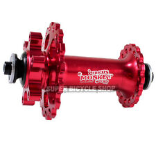 Circus Monkey HDW2 MTB Front Disc Hub,28 Hole,Red