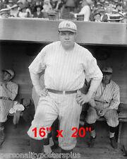 """NY Yankees~Photo~Babe Ruth~1921~#3~Poster~16"""" x 20"""""""