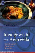 *- IDEALGEWICHT mit AYURVEDA - Elisabeth VEIT  tb (2002)