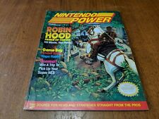 Nintendo Power Magazine W/ Metroid Poster  Volume 26 July 1991 Robin Hood