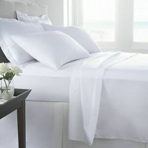 New Base Valance Platform Fitted Bed Sheets easy care 100% Poly Cotton ALL SIZES