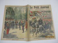 Le petit journal 1897 355 Le président de la république en Russie