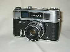 FED 4 RANGEFINDER CAMERA WITH FED 53mm F2.8 LENS