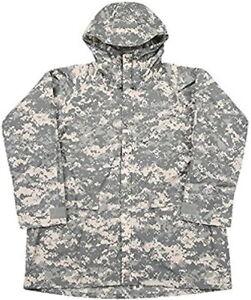 Military Issued ACU Improved Rainsuit Parka-NEW