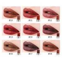Waterproof Lipsticks Long-Lasting Pigmented Moisturizing Lip Gloss Vivid BO