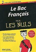 Le bac français pour les nuls 2010 - Gilles Guilleron - Livre - 91210 - 2099976