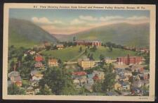 Postcard KEYSER WV Potomac State School & Hospital Bird's Eye Aerial view 1930's