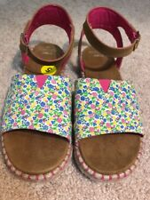 TOMS Youth Malea Vegan Floral Sandal Size 5 NEW
