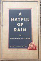 A Hatful Of Rain By Michael Gazzo (1956 1st Hardcover)