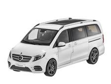 Mercedes Benz, V-Klasse, Modellauto 1:18, bergkristallweiß, W447, NEUHEIT