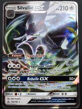 Carte Pokemon SILVALLIE 116/156 GX Ultra Rare Soleil et Lune 5 SL5 FR NEUF