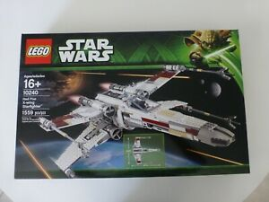 Lego Star Wars 10240 Red 5 X-Wing Starfighter Sealed NEW Free US Shipping